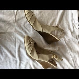 American Eagle Outfitters Shoes - American Eagle sling back wedge shoes